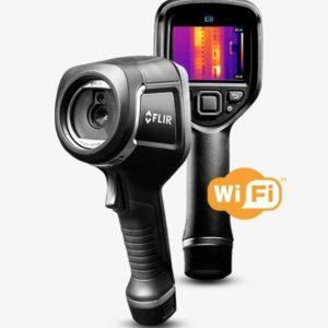 foto delle termocamere FLIR E5, E6, E8