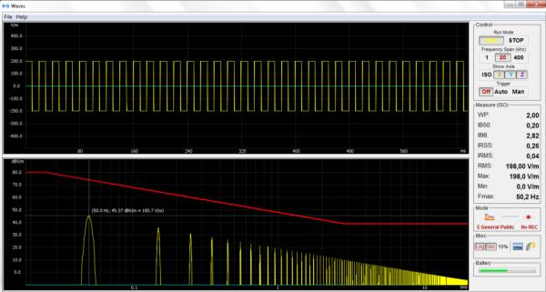 foto del Microrad Waves Software