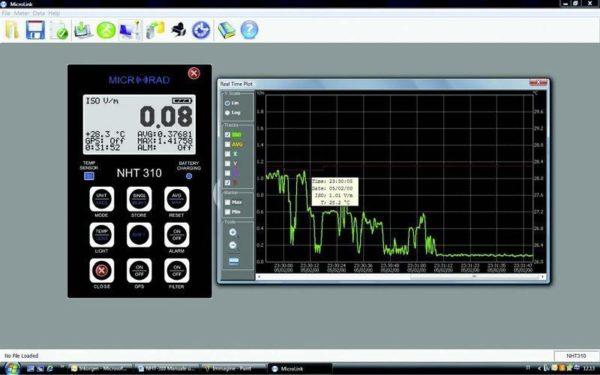 foto del Microrad Microlink Software