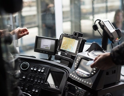 immagine dell'Handheld Algiz RT7 tablet - eticket bus