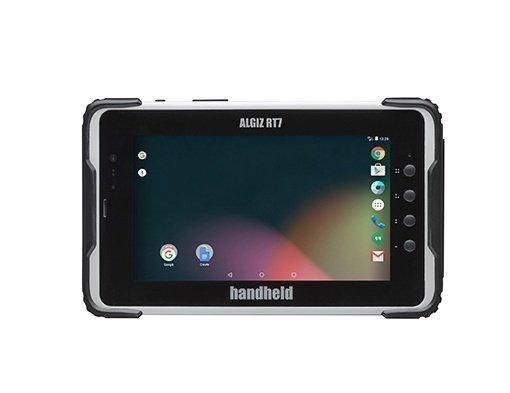 immagine frontale dell'Handheld Algiz RT7 tablet