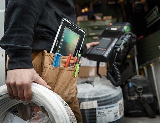 immagine dell'Handheld Algiz RT7 rugged tablet