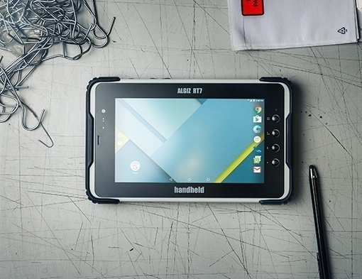 immagine dell'Handheld Algiz RT7 rugged tablet Android