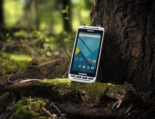 foto dell'Handheld nautiz x2