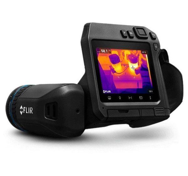 foto della termocamera FLIR T530 - FLIR T540