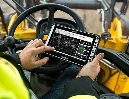 immagine del Tablet Handheld Algiz 8X Windows touchscreen
