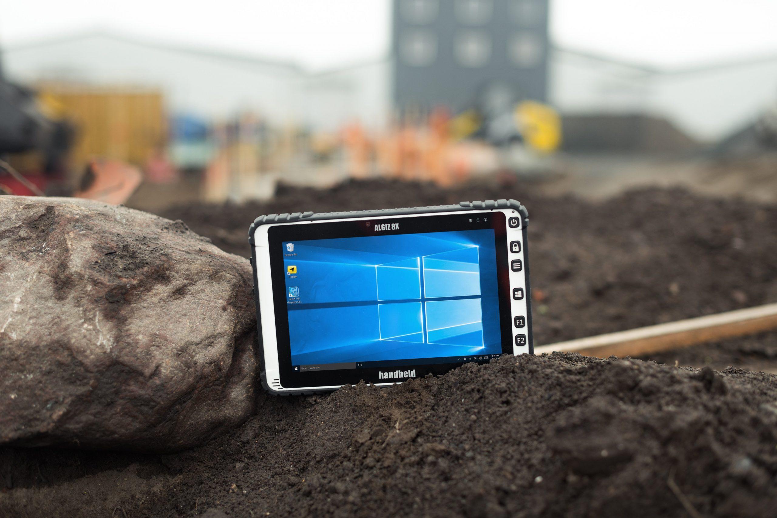 immagine del Tablet Handheld Algiz 8X